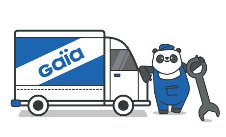 Camionette Gaia